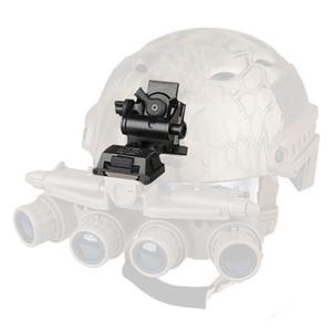 Nueva llegada FAST Helmet Mount Metal Adapter Black Tan Sliver Color para uso en deportes al aire libre CL24-0049