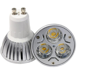 Dimmable GU10 LED Spotlight bulb 3w 5w cree led spot light aluminum housing celing lights AC110-240V