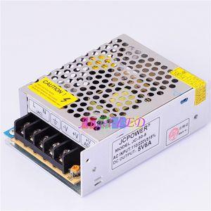 frete grátis 10 Pcs 5V 6A 30W Voltage Transformer fonte de alimentação para Led Light Strip AC 100V-240V