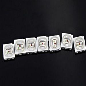 1500PCS 16-19LM 화이트 레드 블루 그린 옐로우 PLCC-6 5050 SMD 3-CHIPS LED 램프 LED 울트라 브라이트 SMD 5050 SMD LED 무료 배송