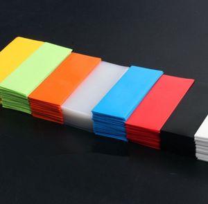 18650 20700 14500 26650 32650 pil PVC Cilt Sticker Daralan Wrap Kapak Kollu Isı Shrink Piller Şarj Sarıcı için Sarma