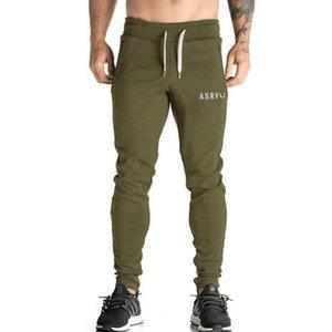 Pantalones de envío al por mayor-Libre ASRV para hombre de deporte de aptitud de ejecutar la capacitación forman los pantalones de los hombres pantalones de gimnasia ropa de gimnasia