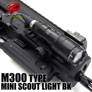 Tactical SF M300 MINI SCOUT LIGHT M300a LED Mini Scout linterna pistola luces negro