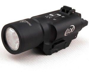 Av Weaver Picatinny Dağı Çekim için Taktik LED Tabanca M4 Tüfek Fener X300 Lanterna Ultra Işıklar