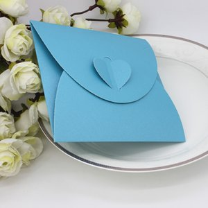 Envelopes Invitation card bag paper gift package for Birthday Wedding Party favor Decor supplies DIY baby shower heart design