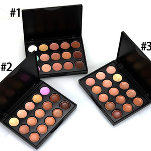 2016 Makeup Face Concealer Professional MINI 15 colores Corrector platte sin caja sin logo