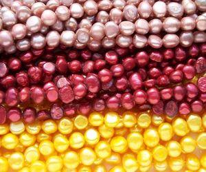 7-8mm Baroque Loose Pearl Strand Perles en vrac Perles de culture d'eau douce Nugget perles pour DIY Fabrication de bijoux