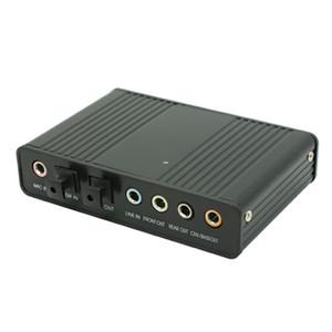 Freeship USB 2.0 Canal 5.1 Optical Toslink S / PDIF Audio Tarjeta de Sonido, Convertidor de Audio Adaptador Externo -PC Ordenador Portátil Laptop Grabación de Sonido