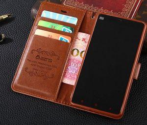 Nuevo para Xiaomi 4I 4C cubierta de la caja de lujo colorido original Slim Flip Wallet Funda de cuero para Xiaomi MI 4I M4i MI4I 4C