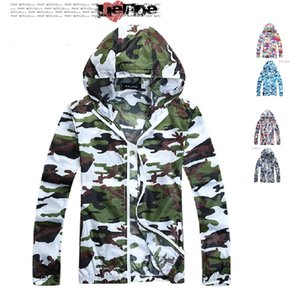 Fall-2016 Sunmmer Beach Thin Camouflage Jacket Sun Protection UV protection Man Jacket Sunproof Men's Jackets Casual Sport Cardigan