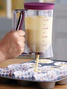 2016 neue Backen Essentials Kuchen Teig Creme Dispenser Teig Cupcake Batter Dispenser küche dining bar kochen werkzeuge