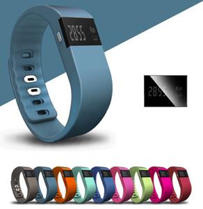 TW64 Pulsera Inteligente Bluetooth Pulseras Inteligentes reloj inteligente Función de Rastreador de Sueño Impermeable para el sistema ios android OTH048