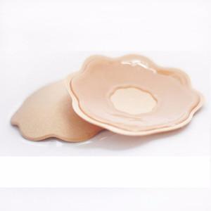 Gros-5pair Sexy Femmes Seins Pétales Adhésifs Pour Femmes Soutien-Gorge En Silicone Gel Invisible Soutien-Gorge Push Up Soutien-Gorge Extender Nipple Cover
