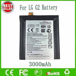 Original OEM BL-T7 BLT7 Bateria Para LG G2 D800 D802 D802 LS980 VS980 3000 mAh Frete Grátis Atacado