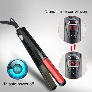 MCH 히터와 LCD 디스플레이와 1 인치 전기석 세라믹 머리 직선 빠른 제품과 함께 헤어 스타일링 도구를 스트레이트