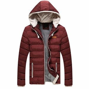 2016 Color Hooded Design Men Parka Size M - 3XL Male Casual Fit Men's Winter Jacket Thick Warm Coat Man Jacket