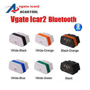 VGate-Schnittstelle Ankunft Vgate ICAR2 Schiff Bluetooth Scanner OBD ICAR ELM327 Bluetooth 2 Neue 2018 icar diagnostic 2 Kostenloses Genrl