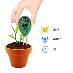 3-in-1 Soil Moisture Meter Light and PH Test Function Garden Plant Soil Water Hydroponics Analyzer Detector Humidity 50pcs