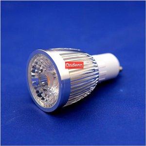20 adet / grup Dim Hiçbir Sürücü Gerekli GU10 6 W COB LED Spot AC220-240V CRI 80Ra 3 Yıl Garanti Ücretsiz Kargo