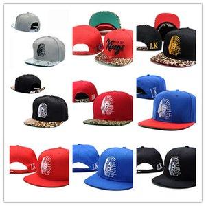 En Satış Deri Snapback şapkalar beyaz lastking LK Tasarımcı Marka erkek kadın beyzbol kapaklar hip-hop sokak caps Ücretsiz Kargo DD