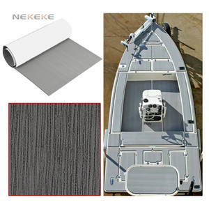 NEKEKE 6 mm de espessura personalizado durável espuma EVA marine deck pad com Looks barco do iate como a teca verdadeira, ainda mais frio do teca verdadeira