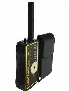 Handheld Detector De Metal Dupla Utilização PinPointer TX-2002 Detectores Profissionais Super Scaner Segurança Wand U0010
