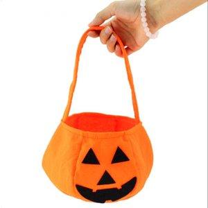 Новый Хэллоуин улыбка тыква мешок дети мешок конфет дети ручной мешок партии поставки трюк или лечения подарок