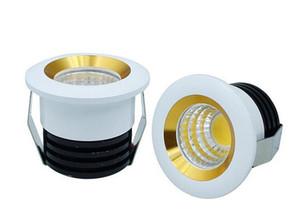 Dimmale COB 5W светодиодные светильники Mini Led Кабинета лампы AC85-265V Мини светодиодный прожектор лампа