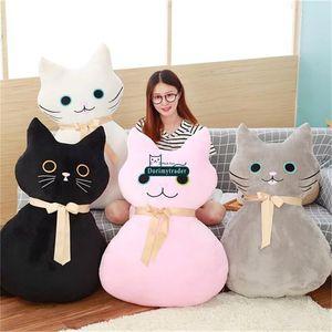 Dorimytrader Yeni Anime Kedi Peluş Yastık Oyuncaklar Dev Topluca Yumuşak Dolması Kediler Bebek Bebek ve Sevgilisi Mevcut 100 cm 39 inç DY61669