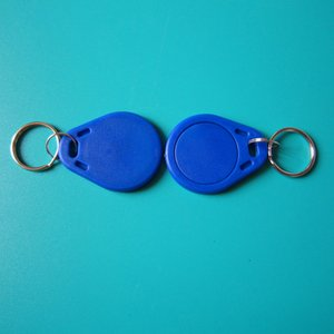 13.56 MHZ MIFARE Classic® 1 K Çip RFID Anahtarlık Etiketi otel için tuş kilidi erişim kontrol sistemi-100 adet