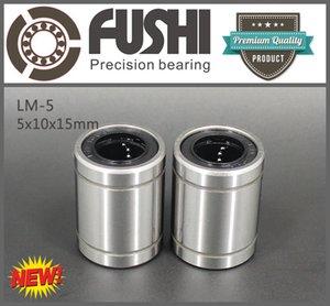 LM05UU (10PCS) Boccola a sfere 5x10x15 MM LM5UU Cuscinetti lineari 5 * 10 * 15 mm