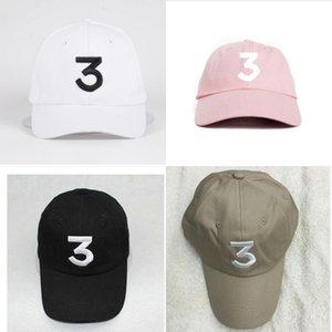Casquette Chance 3 el rapero Streetwear papá gorra gorra snapback Gorra de béisbol libro para colorear golf kanye west bear papá gorras sombreros envío gratis