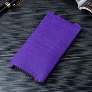إلى Samsung Note 8 Universal Cellphone Pouch Wood Grain Soft PU Leather Case for Samsung Galaxy S8 / S6 / Note 8 / S7 Edge