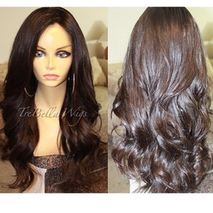 Silk Top Full Lace Wigs Peruvian Glueless Full Silk Base Wig Body Wave Silk Base Lace Front Human Wigs For Black Women