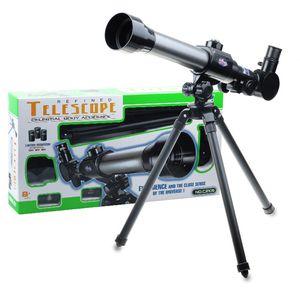 Monoküler Uzay Taşınabilir Tripod Spotting Kapsam ile Astronomik Teleskop 40X teleskopik Teleskop oküler çocuklar için hediye 15 adet / grup