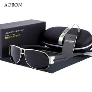 Diseñador de la marca Gafas de sol Hipster Polarized Safety Driving Glasses Último ocio de la manera Outdoor HD Anteojos Accesorios Envío gratuito