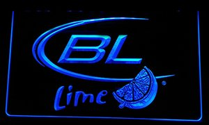 LS053-b Bud Light Kireç Bira Neon Işık İşaret