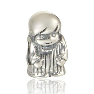 925 طفل رضيع سحر S925 الفضة الاسترليني ليناسب الأساور باندورا LW563 الشحن المجاني