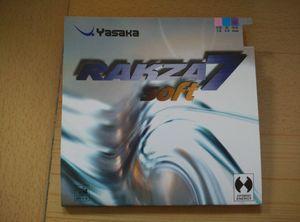 Vendita calda! Yasaka rakza7 soft / rk 7 morbida gomma di ping-pong / R7 pingpong gomma per il tennis da tavolo racchetta / lama / paddle / bat sport indoor