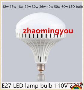 Birnenraum-Schiffsart der großen Energie E27 LED Lampenbirne 110V 220V 12w 16w 18w 24w 30w 36w 40w 50w 60w LED warm / weiße 5730 UFO LED