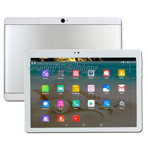 Newest 10 inch Tablet PC Phone Call Phablet Android 4.4 IPS 1280x800 HD Resolution Quad Core Dual SIM 1GB RAM 16GB ROM