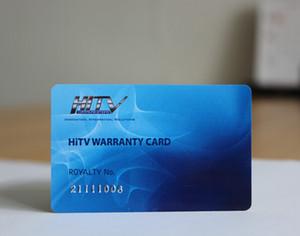 Üyelik kartları, sadakat kartları için barkod PVC kart baskı plastik kartvizit baskı