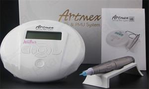 Artmex V6 Profissional máquina de maquiagem semi permanente Kits de Tatuagem MTS PMU Sistema Derma Pen Sobrancelha lip tattoo pen