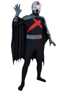 Conjunto completo de X Teen Titans Personalizado Red Superhero Costume Halloween Party Cosplay Terno Zentai