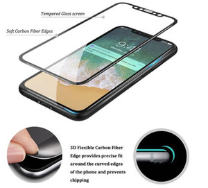 5D Full Cover Temepered Glass Screen Protector for iphone 11 Pro XS MAX XR X Samsung Galaxy