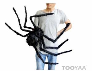 인공 블랙 스파이더 할로윈 공포 파티 축제 연회 장식 Halloween Prop Brilliant for Halloween 75CM 50cm 30cm