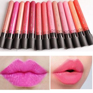 Wholesale-1Pc 25-38Color Lip Gloss Long Lasting Matte Color Waterproof Lipgloss Female Moisture Sexy Make Up Lip Gloss LIG10-2