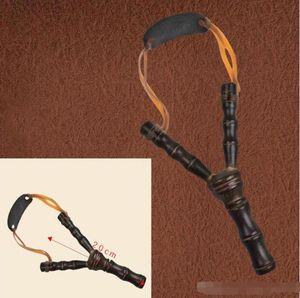 20CM 8 بوصة الخيزران نمط الرافعة خشبية أطلق عليه الرصاص لعب الأصالة والجدة ألعاب المقلاع المنجنيق القوس الصيد