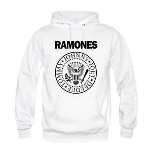 Wholesale-Men Cool Custom Design Ramones Popular Rock Hip Hop Print Casual Hoodies Sweatshirts Fashion Persionalized Special High Quality