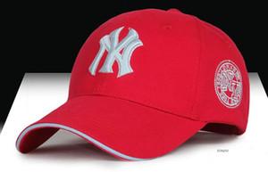 La nueva gorra de béisbol del sombrero de 2016 ms NY gorra de hip hop masculina general que sombrea la gorra de moda de múltiples colores de las cuatro estaciones